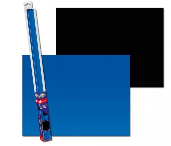 AquaNova Aquarium Posterrückwand schwarz blau