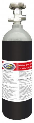 AquaNova CO2 Flaschen