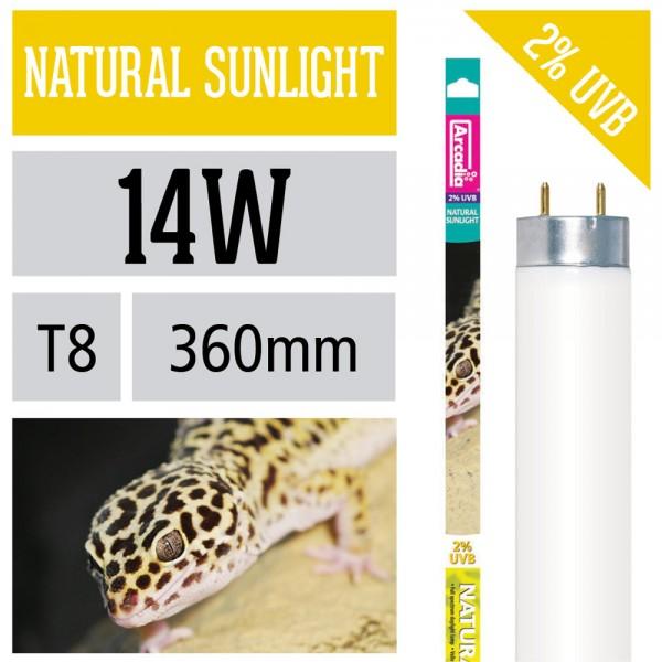 Natural Sunlight T8 UVB 2%