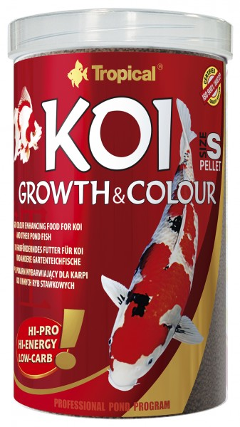 "Koi Growth & Colour Pellet Size ""S"""
