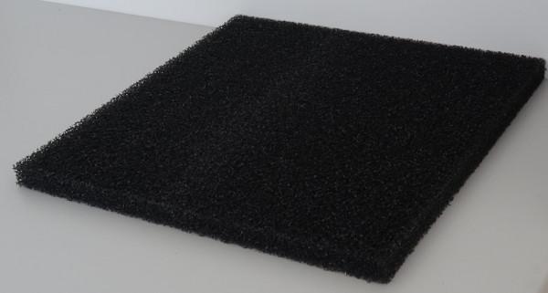Filtermatten Schwarz 50x50x3cm