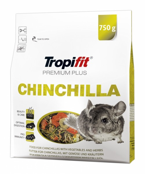 Tropifit Premium Plus Chinchilla