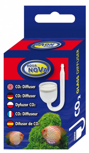 AquaNova CO2 Glasdiffusor