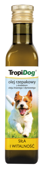 TropiDog Rapskernöl