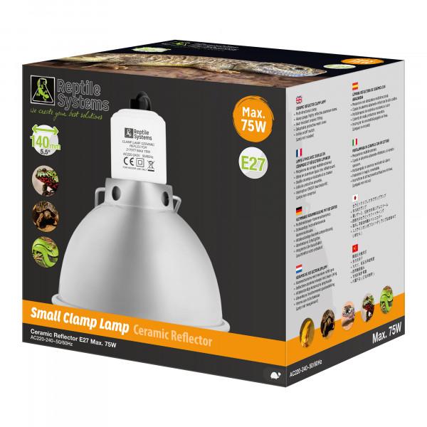 Clamp Lamp für Reptilien SILVER