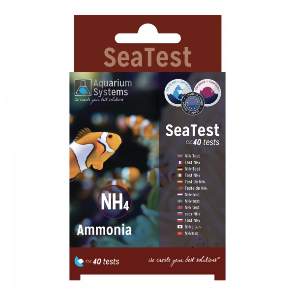 SeaTest NH4 Ammoniak