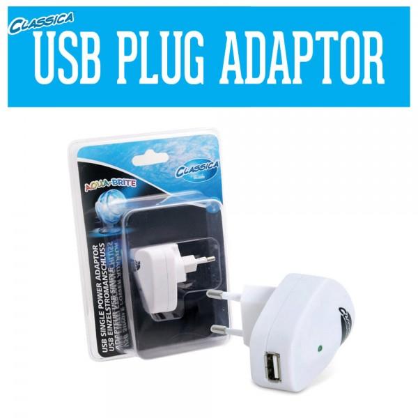Aqua-Brite LED Spotlight IP68 - USB Einzeladapter