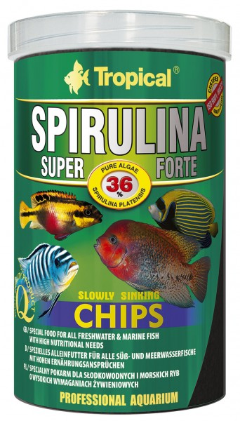 Super Spirulina Forte (36%) Chips