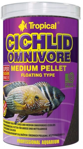 Cichlid Omnivore Medium Pellet