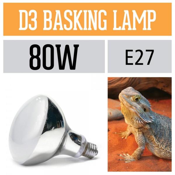 D3 UV Basking Lampe - 2. Generation / E27