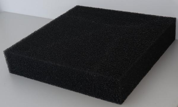 Filtermatten Schwarz 50x50x10