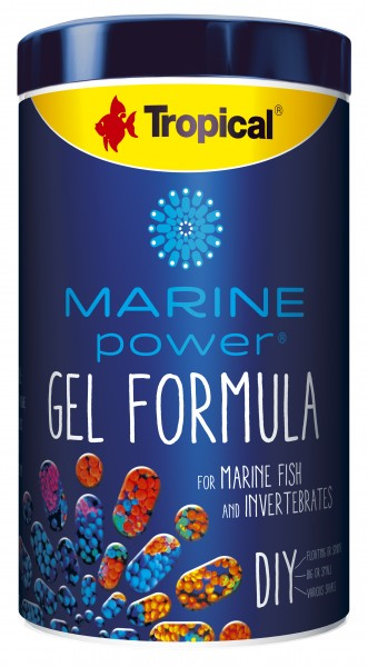 Marine Power Gel Formula (DIY - Do it yourself Futtergelee)