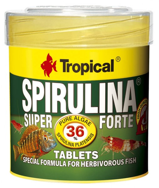 Super Spirulina Forte (36%) Tablets
