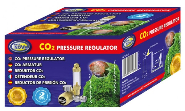 AquaNova CO2 Druckregler