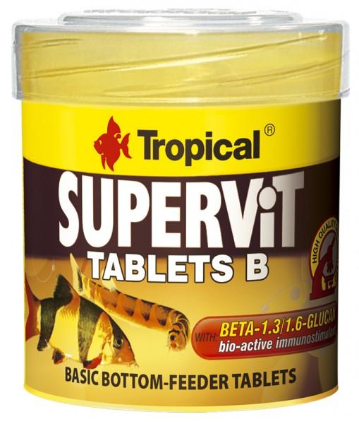 Supervit Tablets B - Hauptfutter Bodentabletten