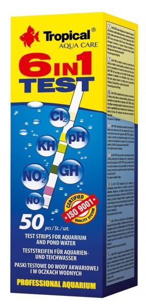 6-in-1 Test (50 Teststreifen)