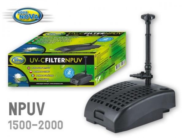 Springbrunnenpumpe mit UV-C Filter