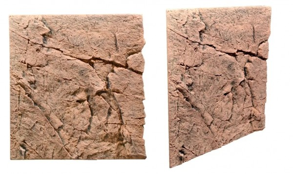 Slimline Rückwand 60 Red Gneiss