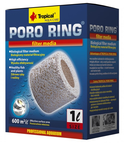 Poro Ring 15x15mm