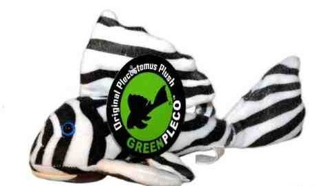 Green Pleco - Zebra Pleco Plüschtier