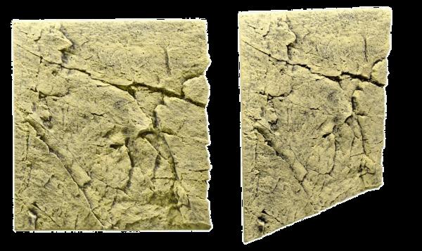 Slimline Rückwand 60 Sand