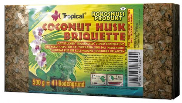 Coconut Husk Briquette