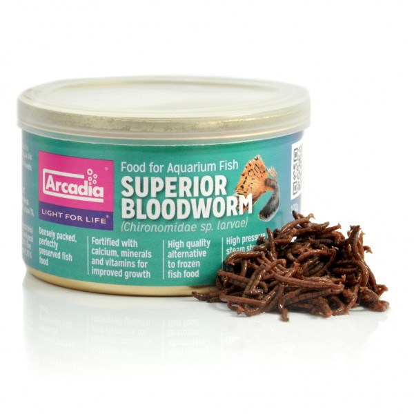 Tinned Fish Food Superior Bloodworm