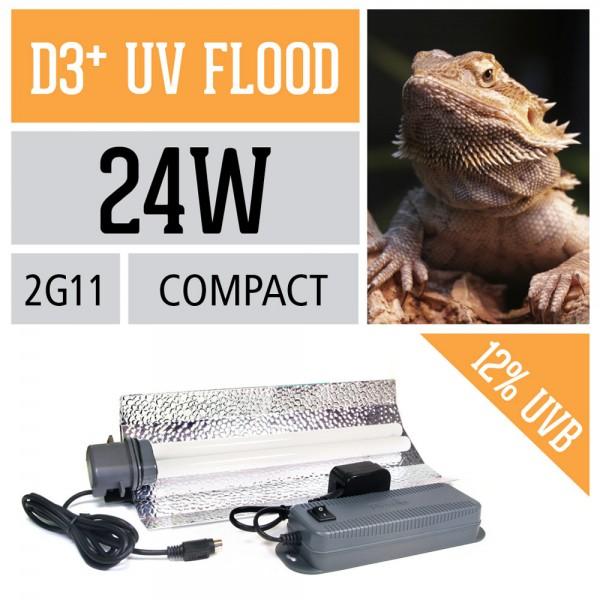D3+ 24-Watt-Kompaktlampe
