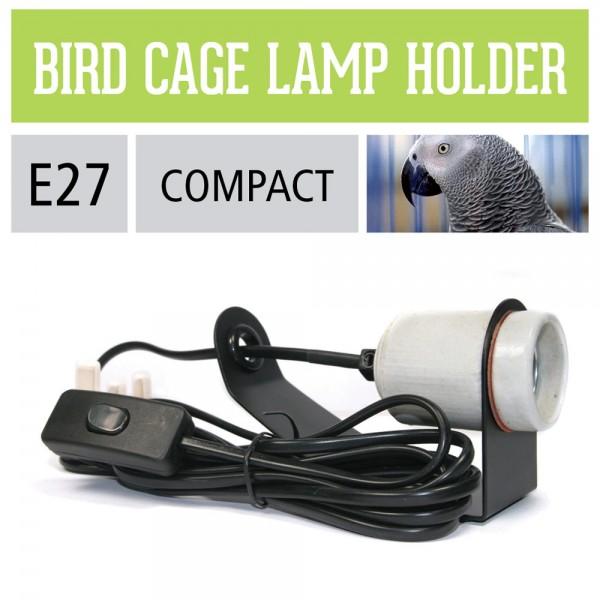 Lampenhalterung für Vogelhäuser