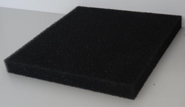 Filtermatten Schwarz 50x50x5cm