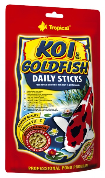 Koi & Goldfisch Daily Sticks