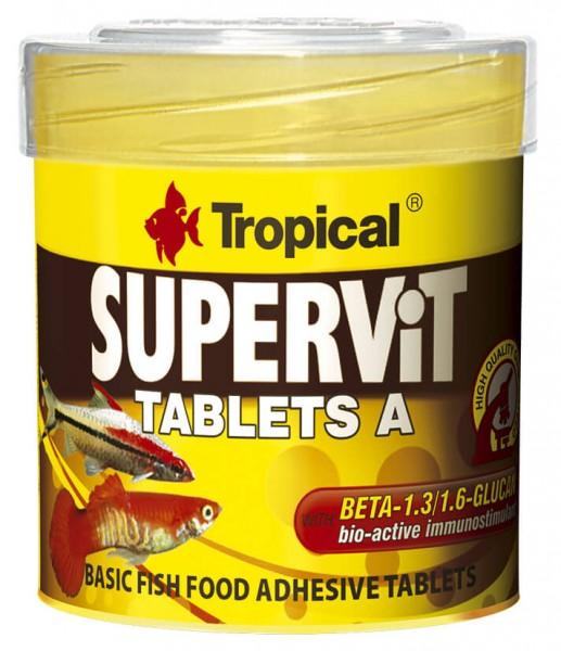 Supervit Tablets A - Hauptfutter Hafttabletten