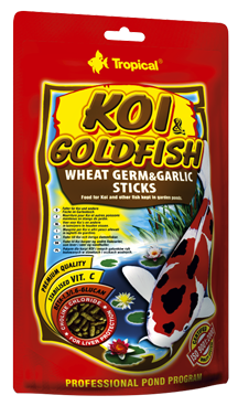 Koi & Goldfisch Wheat Germ & Garlic Sticks