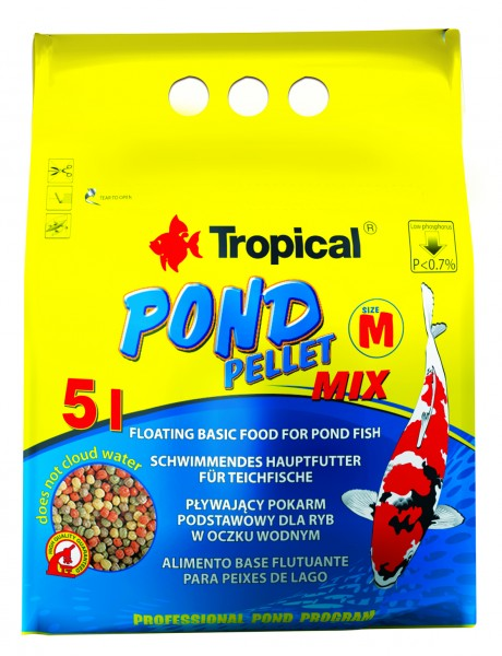 Pond Pellet Mix Size M