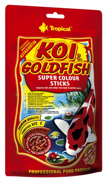 Koi & Goldfisch Super Colour Sticks