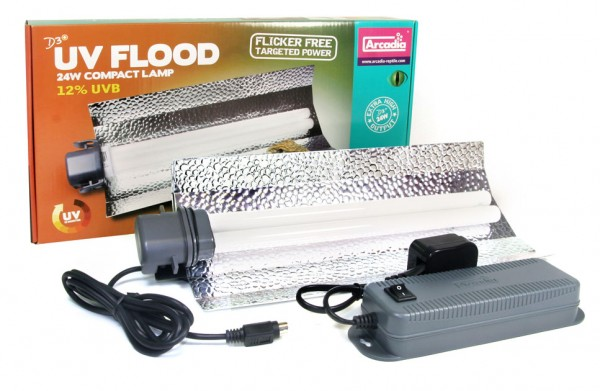 D3+ UV Flood Compact Lampe